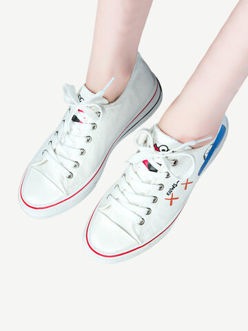 Canvas Shoes Women's New Small White Shoes Net Red Casual Students Wild Flat Sports