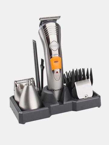KM-580A Multifunktionale wiederaufladbare Haarpflege Trimmer Clipper Bear Ear Rasierer Rasierer Satz