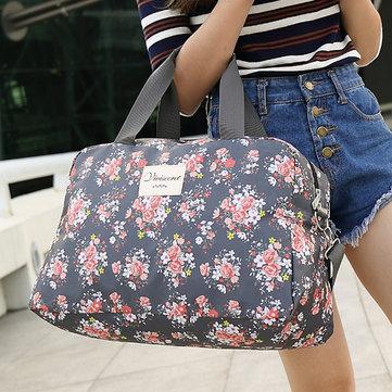 Sac de voyage floral sac de stockage nécessaire pour femme