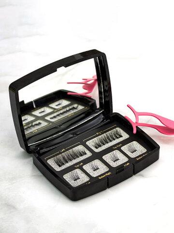 6Pcs Magnetic False Eyelash Set