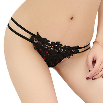 Damen T Zurück Micro G String Thongs Dessous