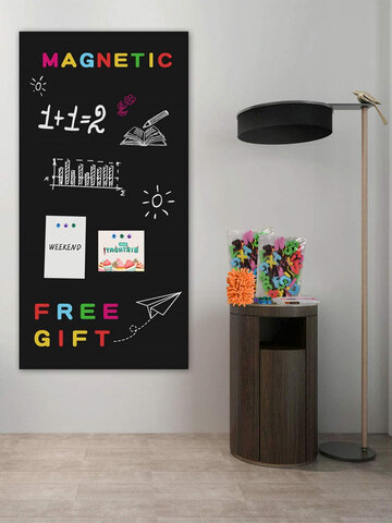 Vinyl Chalkboard Blackboard Wall Sticker Self Adhesive Wall Paper Contact Paper Teaching Blackboard For School Office Home Modern 200 x 60cm