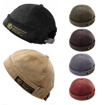 Men Women Couples  Adjustable Brimless Hats