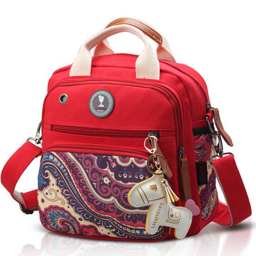 Women Canvas Multifunctional Momy Baby Bags