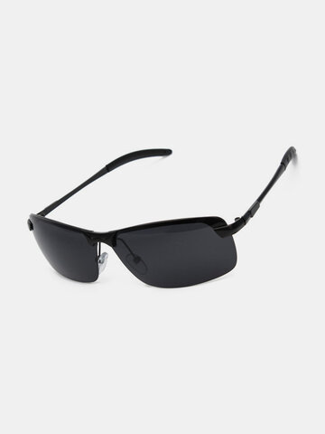 Men Black UV400 Polarized Sunglasses Outdoor Glasses Driving Goggles