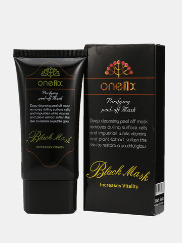 Black Mask Blackhead Removal Masks Peel-off Face Acne Purifying Deep Cleansing 50ml
