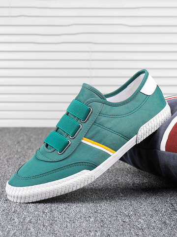 Men Breathable Daily Canvas Sneakers