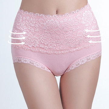 Plus Size High Waisted Panties