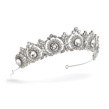 Elegant Crown Hairband