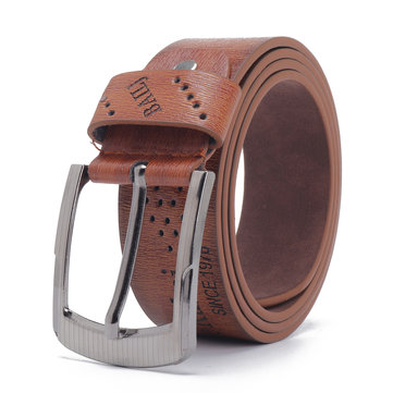 Men Alloy Pin Buckle Commerce Leisure Belt