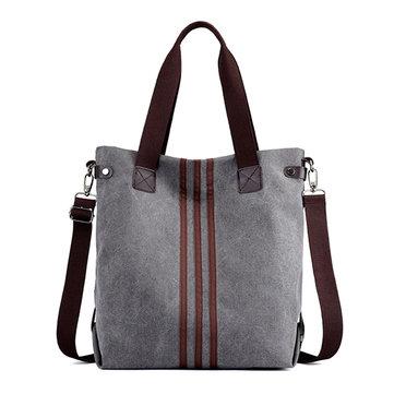 Damen Canvas Große Kapazität Handtaschen Freizeit Crossbody Taschen