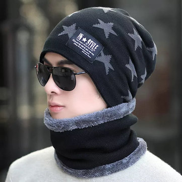 Hooded Neck Collar Scarves Warmer Cap фото