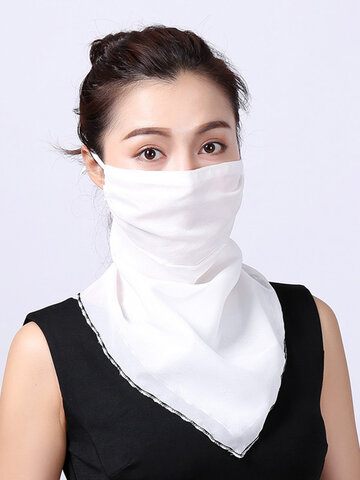 Ear-mounted Breathable Face Masks Neck Sunscreen