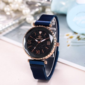 Trendy Starry Sky montre romaine