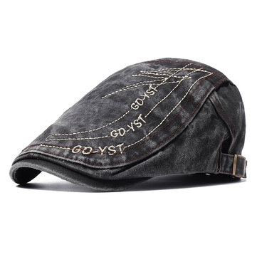 Men's Cotton Beret Cap