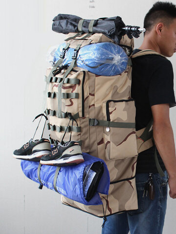 Super Larger Capacity Expansion Waterproof Backpack