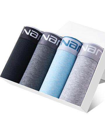 4Pcs Cotton Breathable Stretch Underwears