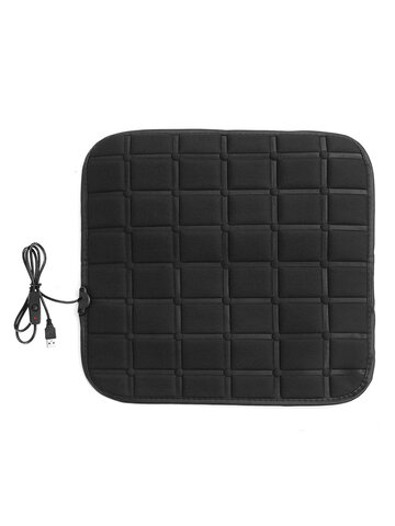 12V Electric Heated Car Seat Cover Office Chair Seat Cushion