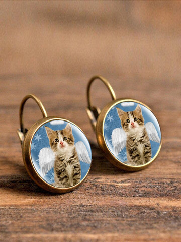 Animal Insect Glass Earrings