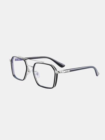 نظارة شمسية للجنسين بإطار كامل مضاد للأزرق ضوء