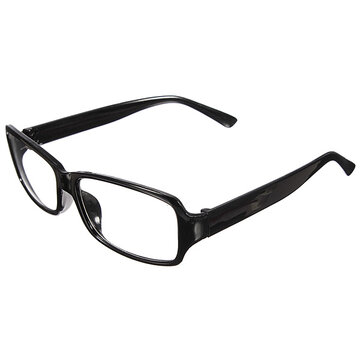 Men Women Retro Clear Shell Lens Plain Nerd Geek Glasses Eye