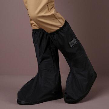 Thicken Waterproof Non Slip Mid Calf Rain Boots Covers