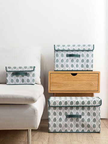 Fabric With Foldable Clothes Storage Box