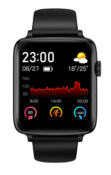 24h Heart Rate Monitor Smart Watch