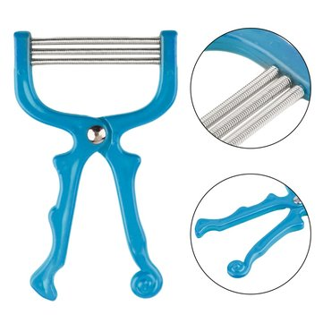Handheld Facial Hair Removal Threading Spring Rolled Face Be