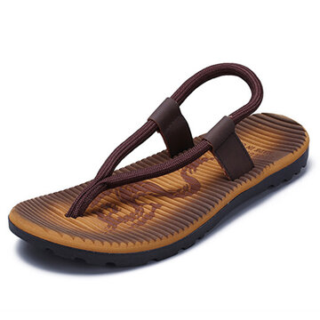 Men Color Blocking Casual Beach Sandals