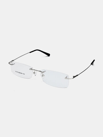 Rimless Glasses Memory Optical Eyeglasses