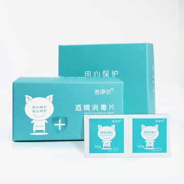 100Pcs Clean Alcohol-pads