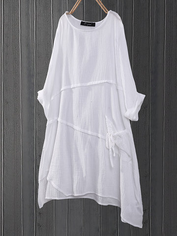 Asymmetrical Long Blouse