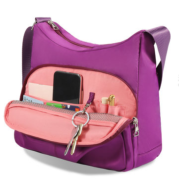 Women Nylon Large Capacity Shoulder Bag Crossbody Bag