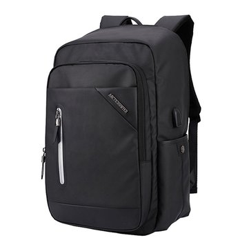 Oxford Large Capacity USB Charging 19 polegadas Laptop Backpack