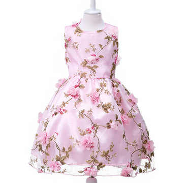 Flower Princess Princess Dress Per 3Y-15Y