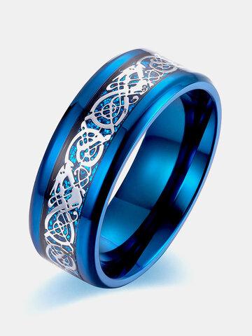 Polished Mirror Carbon Fiber Ring