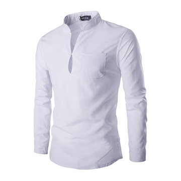 Respirant couleur unie casual t-shirts