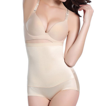 Hip Lifting Seamless Belly Contol High Waist Breathable Shapewear For Women