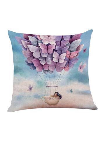 Romantic European American Style Cotton Pillowcase