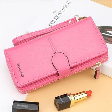 Multifunctional Long Clutch Bag Large Capacity Zipper Wallet