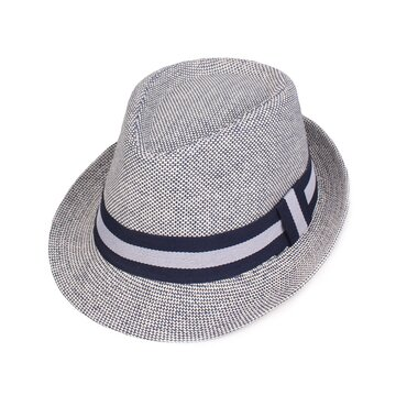 Unisex Straw Knited Sunscreen Jazz Top Cap