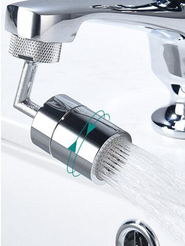 1PC 360 ° / 720 ° Filtro giratório universal à prova de respingos de aspersão Torneira de chuveiro Bocal de chuveiro Torneiras flexíveis Pulverizador Banheiro Adaptador extensor de torneira de cozinha