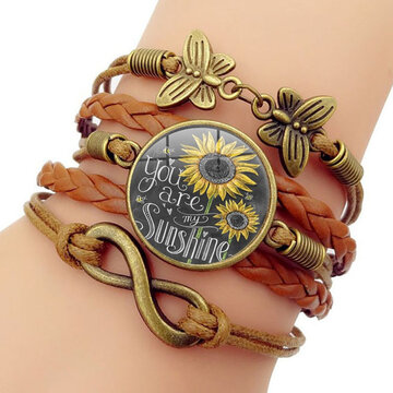 Sunflower Multi-layer Bracelet