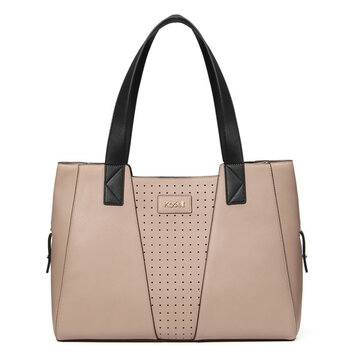 Kadell Hollow Out Tote Bags Vintage Business Shoulder Bags