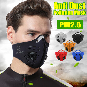 BIKIGHT Face Mask Half Anti Dust Pollution Filter
