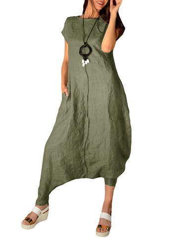 Casual Overall Harem Jumpsuit
