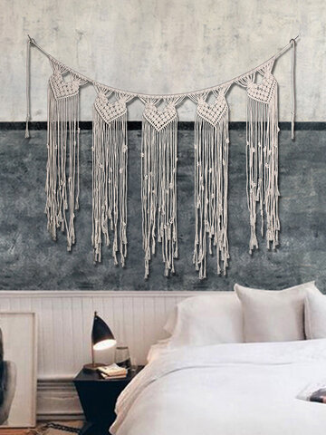 Bohemian Outdoor Wedding Props Pure Hand Woven Tapestry Home Decoration Tapestry