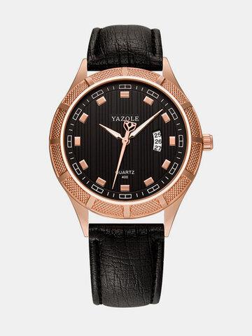 Minimalist Men's Leather Watches