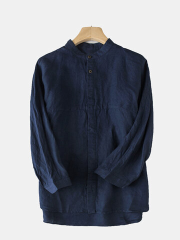 100% Cotton Brief Breathable Casual Shirt
